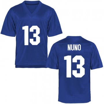 Men's Abraham Nuno Air Force Falcons Game Royal Blue Football College Jersey