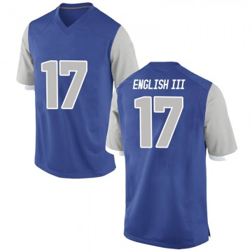 Men's Beau English III Air Force Falcons Nike Game Royal Football College Jersey