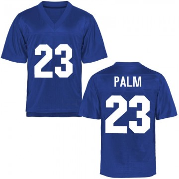 Men's Elisha Palm Air Force Falcons Replica Royal Blue Football College Jersey