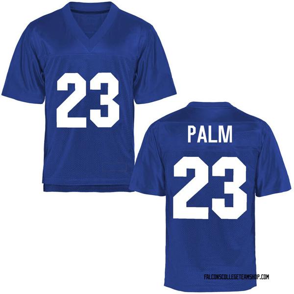 Men's Elisha Palm Air Force Falcons Replica Royal Blue Football College Jersey