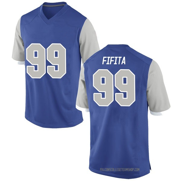 Men's Mosese Fifita Air Force Falcons Nike Game Royal Football College Jersey