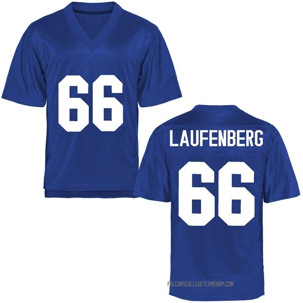 Men's Nolan Laufenberg Air Force Falcons Game Royal Blue Football College Jersey
