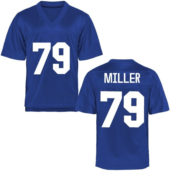 Men's Stone Miller Air Force Falcons Game Royal Blue Football College Jersey