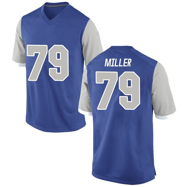 Men's Stone Miller Air Force Falcons Nike Game Royal Football College Jersey