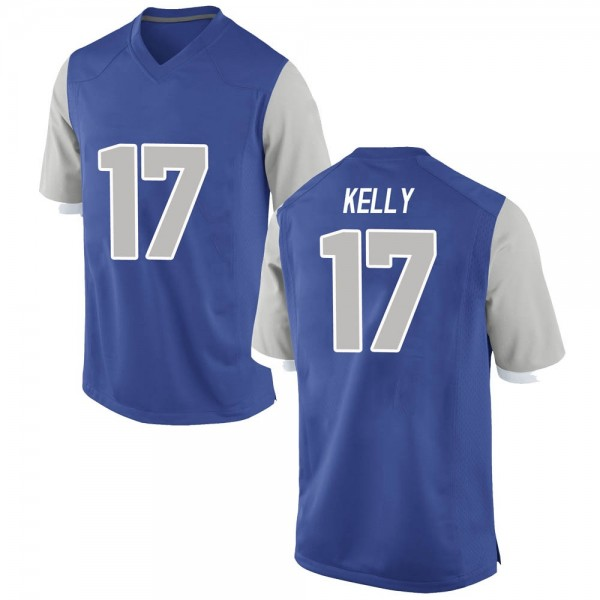 Men's Zion Kelly Air Force Falcons Nike Replica Royal Football College Jersey