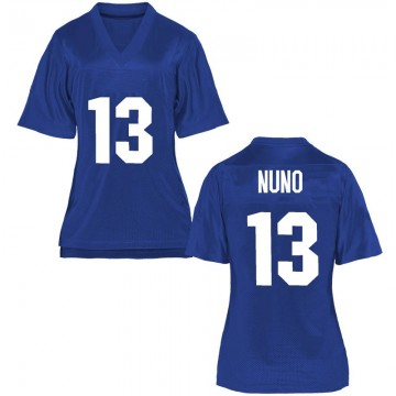 Women's Abraham Nuno Air Force Falcons Game Royal Blue Football College Jersey