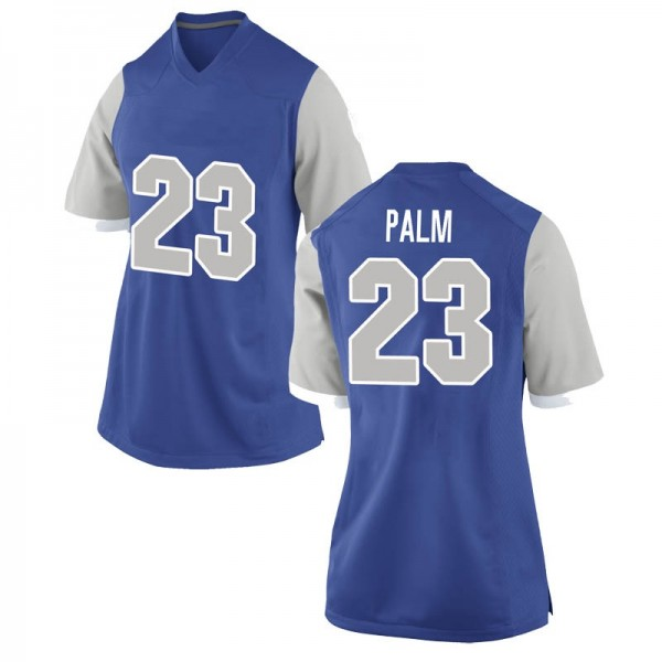 Women's Elisha Palm Air Force Falcons Nike Replica Royal Football College Jersey