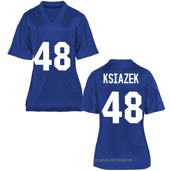Women's Jake Ksiazek Air Force Falcons Game Royal Blue Football College Jersey