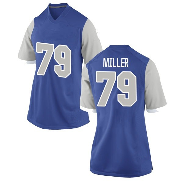 Women's Stone Miller Air Force Falcons Nike Replica Royal Football College Jersey