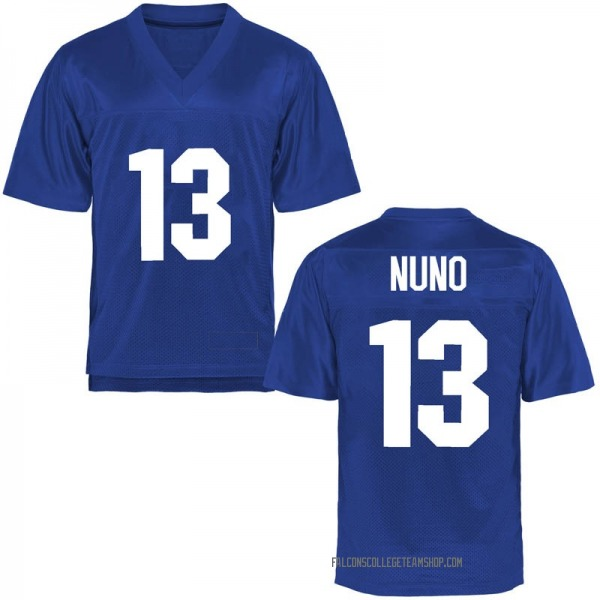 Youth Abraham Nuno Air Force Falcons Game Royal Blue Football College Jersey