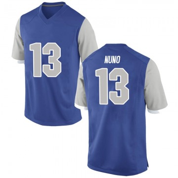 Youth Abraham Nuno Air Force Falcons Nike Game Royal Football College Jersey