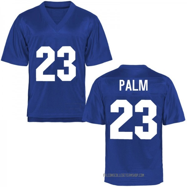 Youth Elisha Palm Air Force Falcons Game Royal Blue Football College Jersey