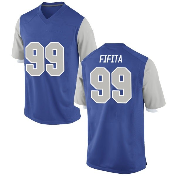 Youth Mosese Fifita Air Force Falcons Nike Game Royal Football College Jersey